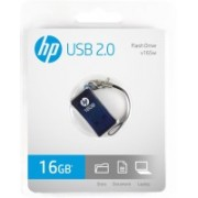 HP V-165 W - 16 GB Utility Pendrive(Blue)