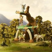 Summergreen Elf House Figure Set