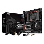 MSI Gaming carbonio X99A Intel X99 S 2011-3 DDR4 SATAe E-ATX Scheda madre, colore: nero