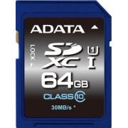 SECURE DIGITAL CARD SDXC 64GB (Class 10) ADATA (ASDX64GUICL10-R)