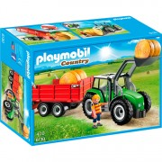 Country - Tractor met aanhangwagen