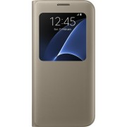 Samsung S View Cover voor Samsung Galaxy S7 Edge - Goud