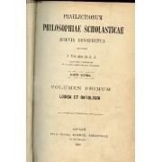Praelectium Philosophia Scholasticae Brevis Conspectus - En 1 Seul Volume - Volumen Primum : Logica Et Ontologia + Volume Secundum : Cosmologia Et Organologia + Volumen Tertium : ...