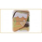 Erbesi Italia - Patura BUCANEVE alb-verde-orange