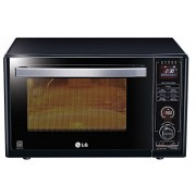 LG 32 L Convection Microwave Oven (MJ3283BKG, Black)