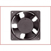 EC Axial Cooling Blower Exhaust Rotary Fan SIZE : 4.75 inches (12x12x3.8cm)(120x120x38mm) Material : Thermoplastic Supply Voltage : 110vac Color : Black. MAA-KU