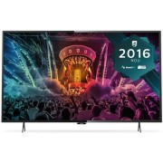 "Televizor LED Philips 125 cm (49"") 49PUH6101/88, Ultra HD 4K, Smart TV, WiFi, CI+ + Lantisor placat cu aur si argint + Cartela SIM Orange PrePay, 6 euro credit, 4 GB internet 4G, 2,000 minute nationale si internationale fix sau SMS nationale din care 300"