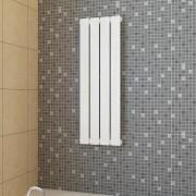 vidaXL Vykurovací panel biely 311mm x 900mm