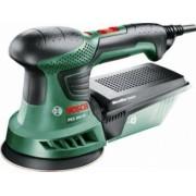 Slefuitor cu excentric Bosch PEX 300 AE 270 W 125 mm + 25 Accesorii Bonus Sapca Verde
