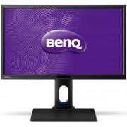 """Monitor IPS LED BenQ 23.6"""" BL2420U, Ultra HD (3840 x 2160), DVI-DL, HDMI, DisplayPort, 7 ms GTG, Boxe (Negru)"""