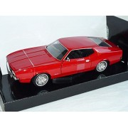 Ford Mustang 1971 Rot Sportsroof Coupe 1/24 Motormax Modellauto Modell Auto