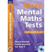 More Mental Maths Tests for Ages 9-10 by Andrew Brodie