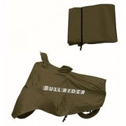 Bull Rider Two Wheeler Cover for Bajaj Pulsar 200 NS DTS-i with Free Microfiber Gloves