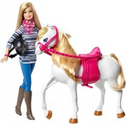 Mattel Barbie Doll and Horse