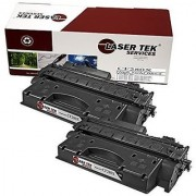 Laser Tek Services High Yield Toner Cartridge 2 Pack Compatible with HP CF280X LaserJet Pro 400 M401dn LaserJet...