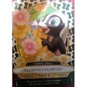 Sorcerers Mask of the Magic Kingdom Game Walt Disney World - Card #45 - Flower's Flowers