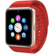 "Smartwatch iUni GT08s Plus, Capacitive touchscreen 1.54"", Procesor Dual-Core 1.2GHz, 128MB RAM, Bluetooth, Bratara silicon, Camera foto, Functie telefon (Rosu)"