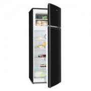 Klarstein Height Cool Black, fekete, hűtőszekrény és fagyasztó kombinációja, 171/41 l, kétajtós, A++
