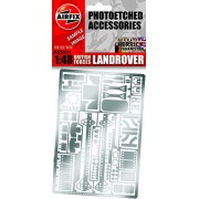 British Forces Land Rover Photo-etched Accessory Parts 1:48