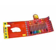Giotto Be-Bè - Etui-Coffret 12 Crayons Maxi Bois + Taille-Crayon