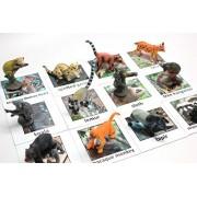 Montessori Animal Match Miniature Rainforest Animals With Matching Cards 2 Part Cards. Montessori Learning Toy, Language Materials