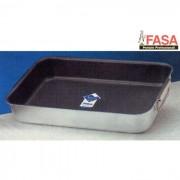 Fasa rostiera rettangolare alluminio teflon 35 x 26 cm