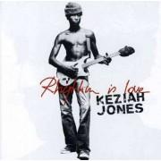 Keziah Jones - Rhythm Is Love ( Best Of) (0724387525122) (1 CD)