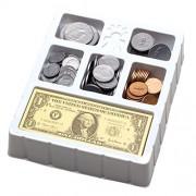 Educational Insights Play Money Coins & Bills Tray