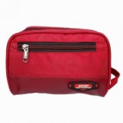 Modish Designs Multipurpose Zipper Closure Red Color Toiletary/Cosmetic/Shaving/Travelling Small Bag Travel Toiletry Kit(Red)