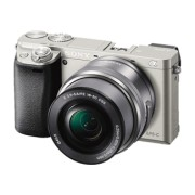 SONY Sony Alpha 6000 + 16-50 mm F3.5-5.6 Zilver