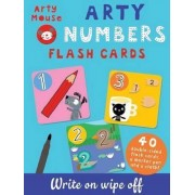 Arty Numbers Flash Cards by Mandy Stanley
