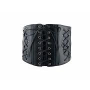 Curea lata corset negru