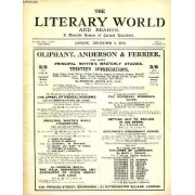 The Literary World And Reader, A Monthly Review Of Current Literature, Vol. Lxxix, N° 1946, Dec. 1913