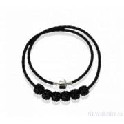 Náhrdelník LS Fashion LSN009 černý