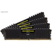 Corsair Vengeance Lpx 32GB (8GB x 4) DDR4-2400 (pc4-19200) CL14 Memory Module with black low-profile heatsink