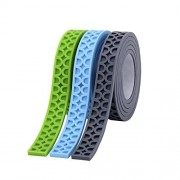 SuSenGo 3 Rolls Green Blue Gray Receiver 9.8feet/3meter Building Block Tape Roll Self-Adhesive Works Just Like The Bottom of The Block.