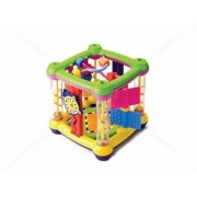 B Kids AT-Busy Baby Activity Centre Cube Educational Activity Toy for Toddlers