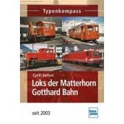 Loks der Matterhorn Gotthard Bahn seit 2003 by Cyrill Seifert
