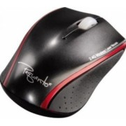 Mouse Laptop Hama Pequento2 Wireless Black Red