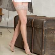PRESTIGE - Nadkolena čarapa sa silikonskom trakom 140 DEN (18-22mmHg)