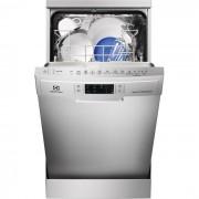 Masina de spalat vase Electrolux ESF4660ROX, independent, 9 seturi, clasa A++, latime 45 cm, 6 programe, afisaj digital, start intarziat, inox