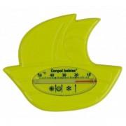 Badtermometer Båt - Lime (ljus grön)