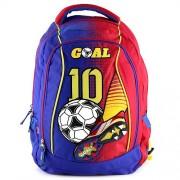 Anucci Children's Backpack, Azzurro/Rosso (Multicolour) - 16258