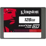 SSD Kingston KC400 Series, 128GB, SATA III 600