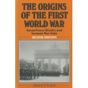 The Origins of the First World War by H.W. Koch