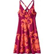 Patagonia Amber Dawn - Robe Femme - orange/rose 32 Robes & Jupes
