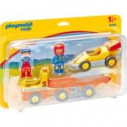 1.2.3 - Raceauto met transportwagen