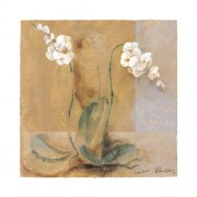 "Eurographics GB1001 Stampa artistica ""Orchidee Variation I"" di Gabor Barthez 50x50 cm"