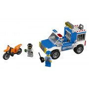LEGO® Juniors Urmarire cu camionul de politie - L10735