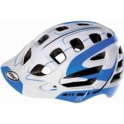 Suomy Scrambler S-Line Fahrradhelm Weiß/Blau